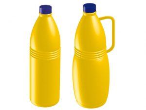 botella de lejía