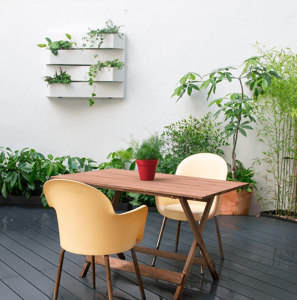 diseño de terrazas y jardines